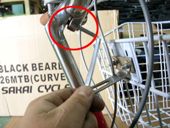 ハンドル 上げ 方 自転車