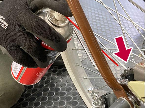 定期的な自転車メンテナンス:チェーン