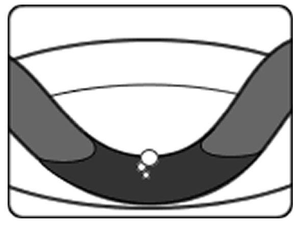 自転車のパンク修理方法②:パンク穴をふさぐ 1.水の中に入れてパンク穴を探す